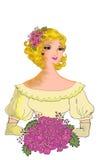Женщина Handrawn бесплатная иллюстрация