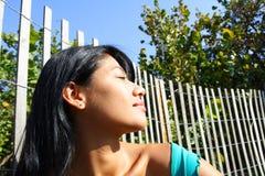 женщина headshot Стоковая Фотография RF