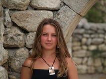 женщина hersones Крыма стоковая фотография