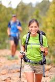 Женщина Hiker Стоковые Фотографии RF