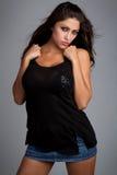 женщина latina стоковые изображения rf