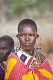 Женщина Maasai Стоковые Фотографии RF
