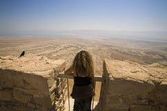 Женщина Masada Стоковое фото RF