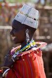 Женщина Masai стоковая фотография