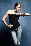 женщина oriental ювелирных изделий Стоковое Изображение RF