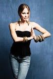 женщина oriental ювелирных изделий Стоковая Фотография RF