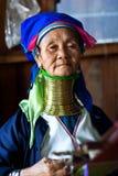 женщина padaung myanmar Стоковая Фотография RF