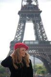 женщина paris стоковые фото