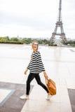 женщина paris Стоковое Изображение RF