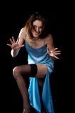 женщина peignoir Стоковая Фотография RF