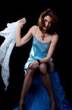 женщина peignoir Стоковое Изображение
