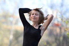 женщина portret сексуальная Стоковое фото RF