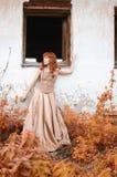 Женщина Redhead Стоковые Изображения RF
