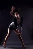женщина rnb танцора Стоковая Фотография