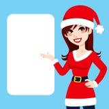 Женщина Santa Claus бесплатная иллюстрация