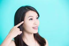 Женщина skincare красоты Стоковая Фотография RF