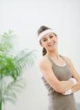 женщина sportswear портрета сь Стоковая Фотография RF