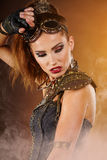 Женщина Steampunk Стоковые Фото
