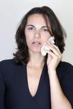 женщина toothache стоковые изображения rf