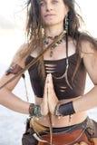 женщина totem Стоковые Фото