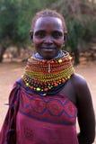 женщина turkana портрета Стоковое Изображение RF