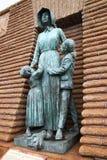 женщина voortrekker детей Стоковые Изображения