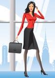 женщина york офиса дела новая Стоковые Изображения