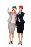 2 женщины архитекторов обсуждая Стоковое Изображение