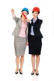 2 женщины архитекторов обсуждая Стоковое Изображение RF