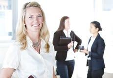 женщины бизнес-группы Стоковое Изображение RF