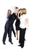 женщины бой дела Стоковые Фотографии RF