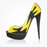 женщины ботинка способа Стоковые Изображения