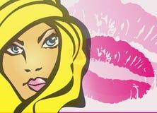 женщины влюбленности s иллюстрации Стоковые Изображения RF