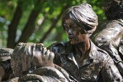 женщины война США против Демократической Республики Вьетнам скульптуры s стоковые фото
