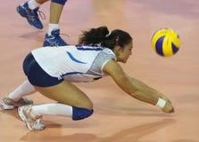 женщины волейбола Италии s fivb чемпионата Стоковые Фото