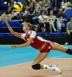женщины волейбола rep s fivb чемпионата чехословакские Стоковая Фотография RF