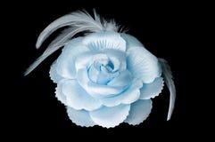 женщины волос цветка зажима Стоковая Фотография RF
