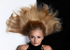 женщины волос Стоковые Изображения