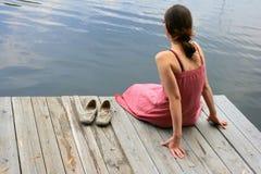 женщины воды Стоковое Изображение RF