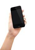 Женщины вручают держать телефон Стоковые Фотографии RF