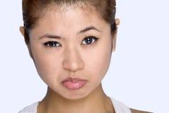 женщины выражения молодые Стоковая Фотография