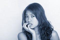 женщины выражения молодые Стоковые Изображения RF