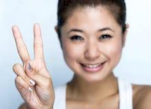 женщины выражения счастливые молодые Стоковое фото RF