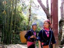Женщины Вьетнама, провинция PA Sa Стоковое фото RF