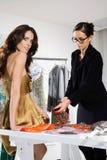 Женщины в высоких модах sui Стоковое Изображение RF