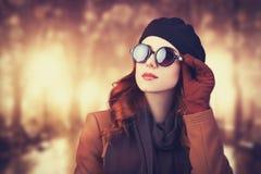Женщины в солнечных очках. Стоковая Фотография