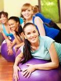 Женщины в типе aerobics. Стоковая Фотография RF