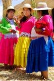 Женщины в традиционных платьях Стоковые Изображения RF