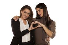женщины влюбленности 2 Стоковое Изображение RF