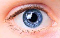 женщины глаза Стоковые Фото